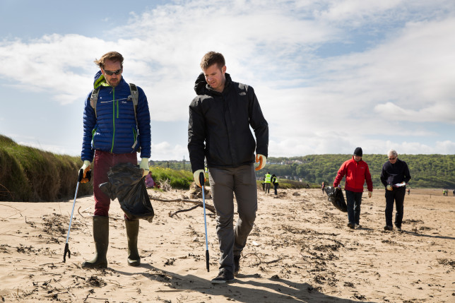M&S Big Beach Clean Up