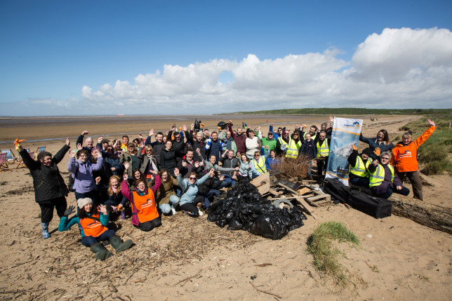 M&S Big Beach Clean-up Sand Bay