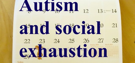 Autism and social exhaustion