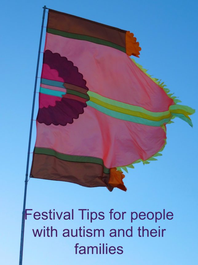 festival tips for people with autism
