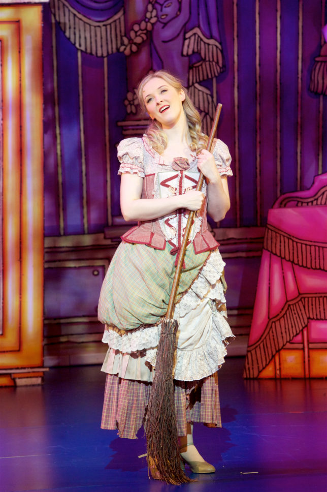 relaxed performance cinderella