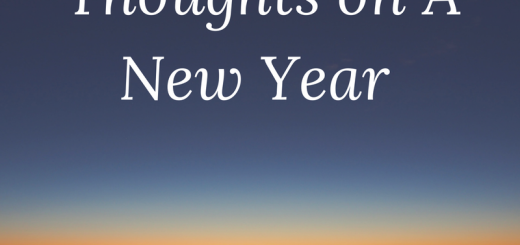 thoughts on a new year