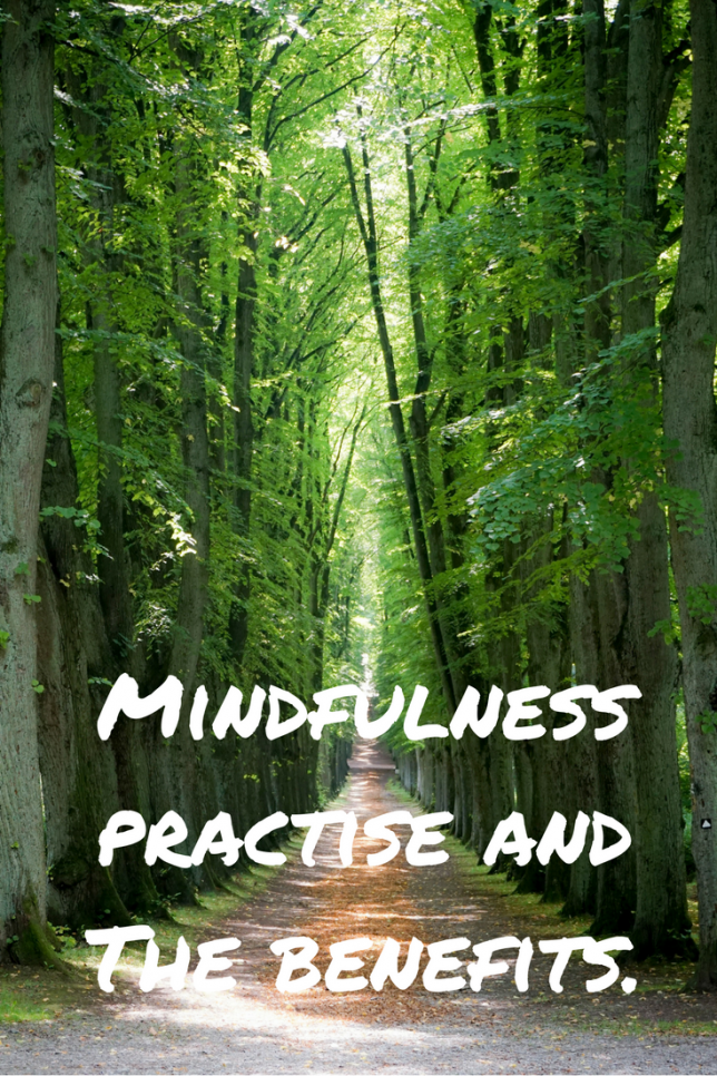 Mindfulness practise and the benefits.