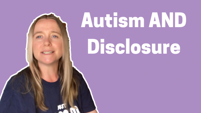 Autism AND Disclosure