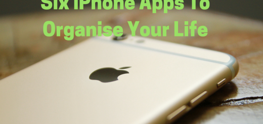 Six iPhone Apps To Organise Your Life