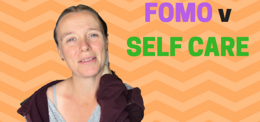 FOMO v SELF CARE