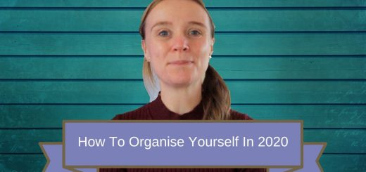 organise yourself in 2020