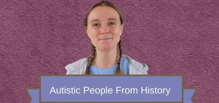 autistic people from history