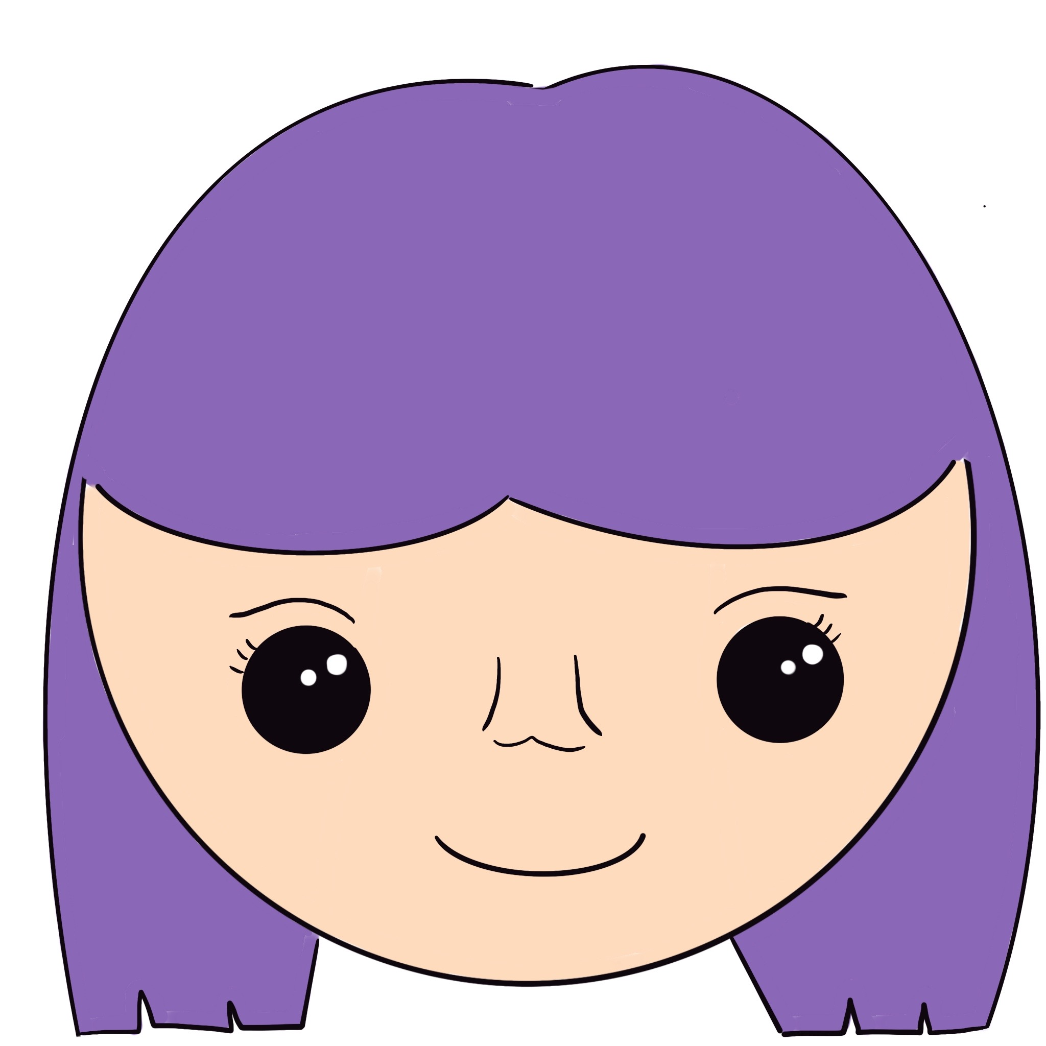 Become a purple person