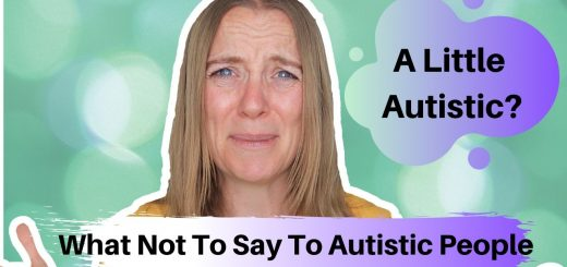 a little autistic?
