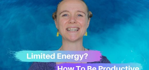 Limited Energy? How to be productive