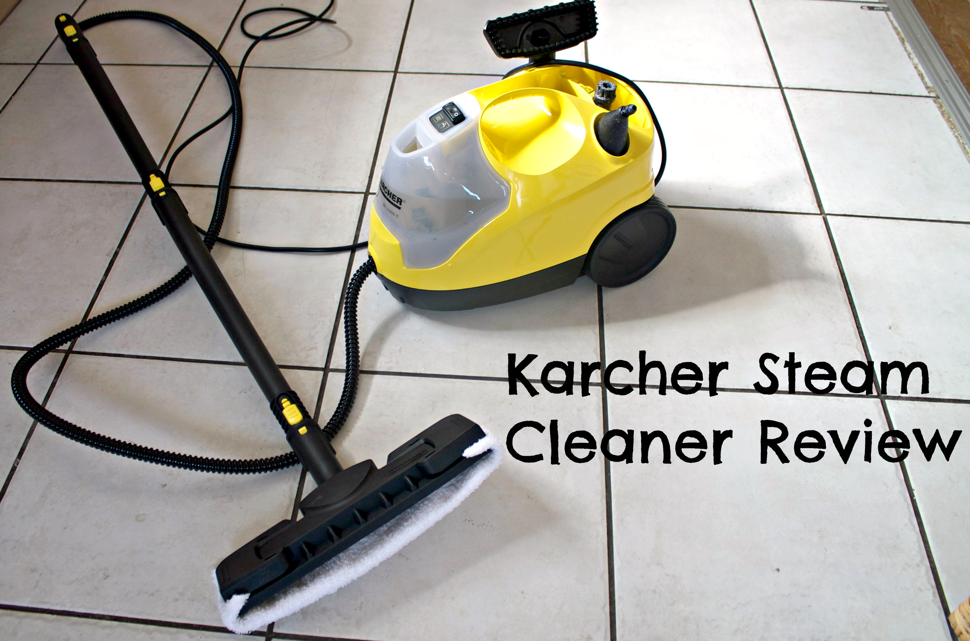 floor cleaners review karcher steam cleaner