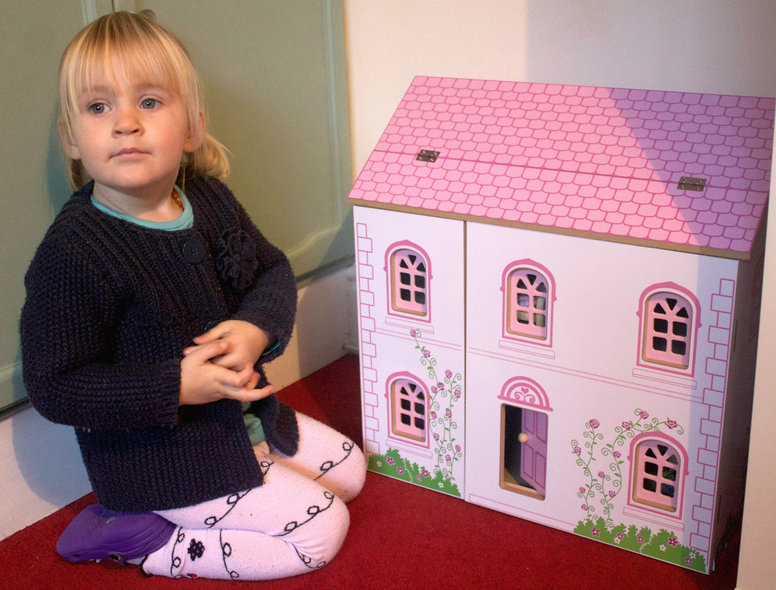 Review Kiddicare Buzzing Brains Dolls House