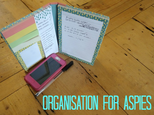 Aspergers and organisation