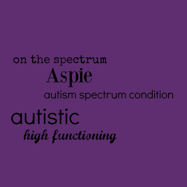 Autism, what's in a name?