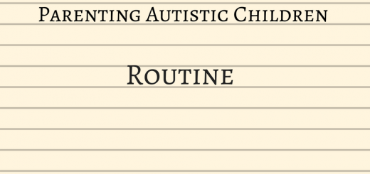 Parenting autistic children