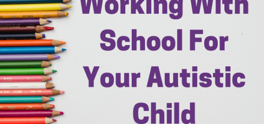 Working with school for your autistic child